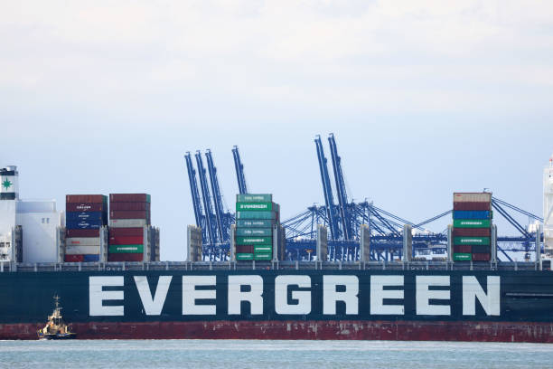 GBR: Ever Given Container Ship Arrives at Final Destination in U.K.