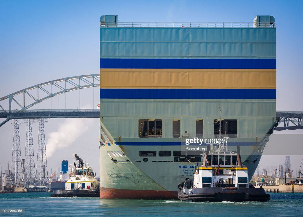 CA: The Port Of Long Beach As U.S. Trade Gap Widens For Sixth Month Ahead Of Trump Tariffs
