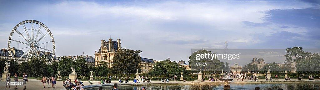 Jardin Des Tuileries Paris Stock Photo Getty Images