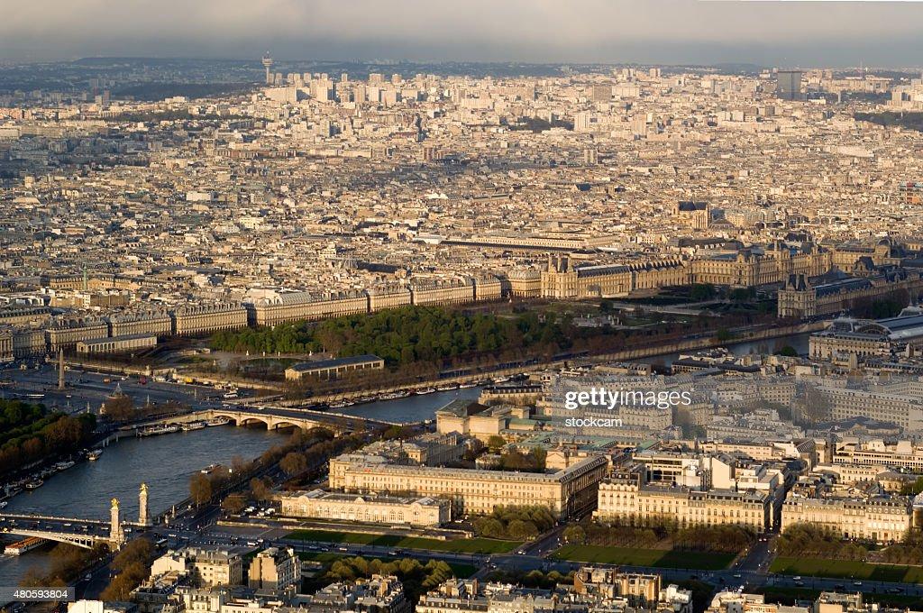 Tuileries gardens, Paris France : Stock Photo