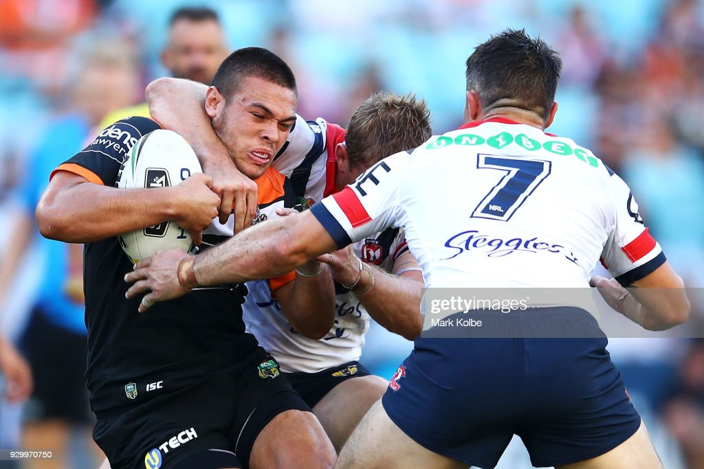 NRL Rd 1 - Tigers v Roosters : News Photo