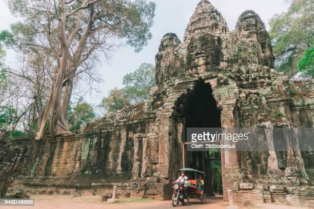 Tuk-Tuk in Angkor Wat