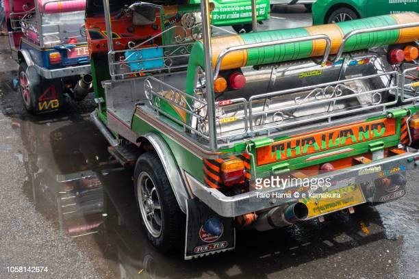 Tuktuk motor bike taxi in Bangkok