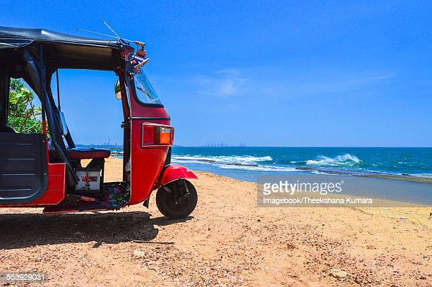 Tuk-tuk on the beach