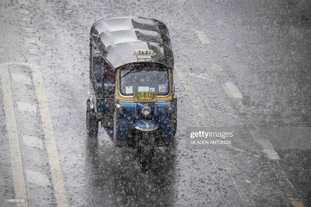 THAILAND-WEATHER : ニュース写真