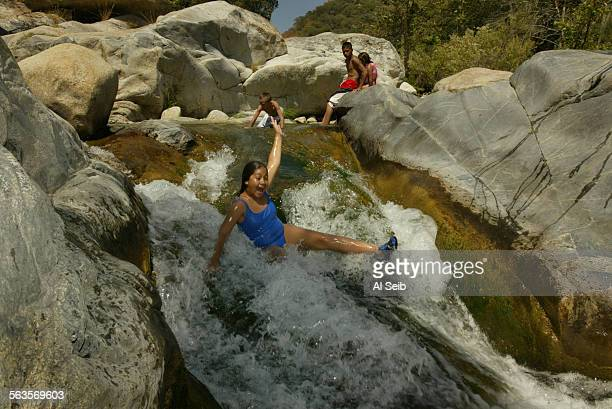 Tule River swimming holes. Author Poncho Doll shows some of the swimming holes along Tule River near Springville.