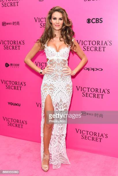 Tulin Sahin attends 2017 Victoria's Secret Fashion Show In Shanghai Pink Carpet Arrivals at MercedesBenz Arena on November 20 2017 in Shanghai China