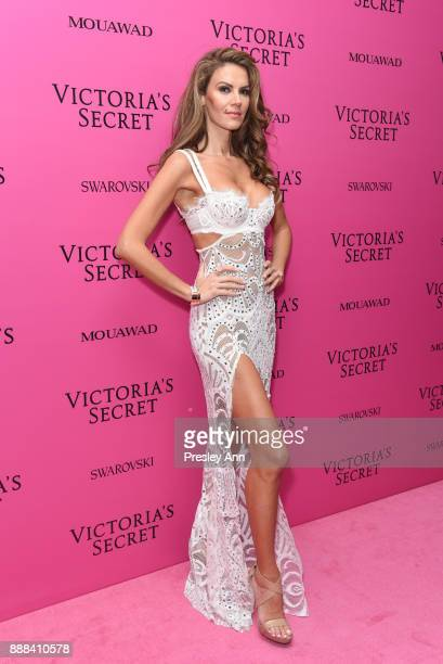 Tulin Sahin attends 2017 Victoria's Secret Fashion Show In Shanghai After Party at MercedesBenz Arena on November 20 2017 in Shanghai China