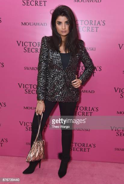 Tulin Sahin attends the 2017 Victoria's Secret Fashion Show In Shanghai After Party at MercedesBenz Arena on November 20 2017 in Shanghai China