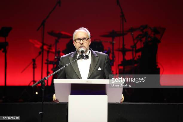 Tulip Chairman Stephan Goericke speaks at the TULIP Gala 2017 at MetropolisHalle on November 11 2017 in Potsdam Germany