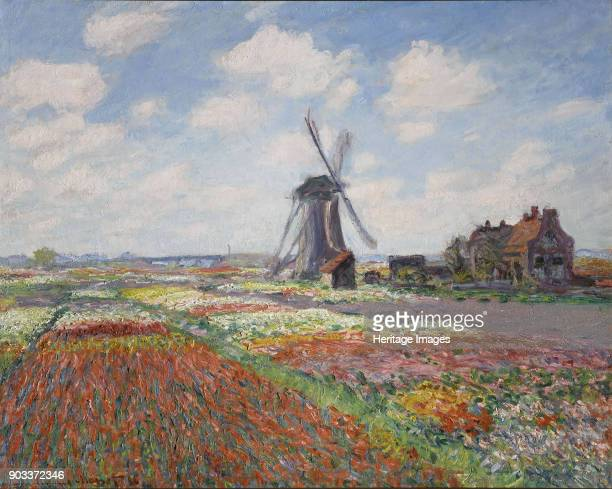 Tulip fields in Holland Found in the Collection of Musée d'Orsay Paris