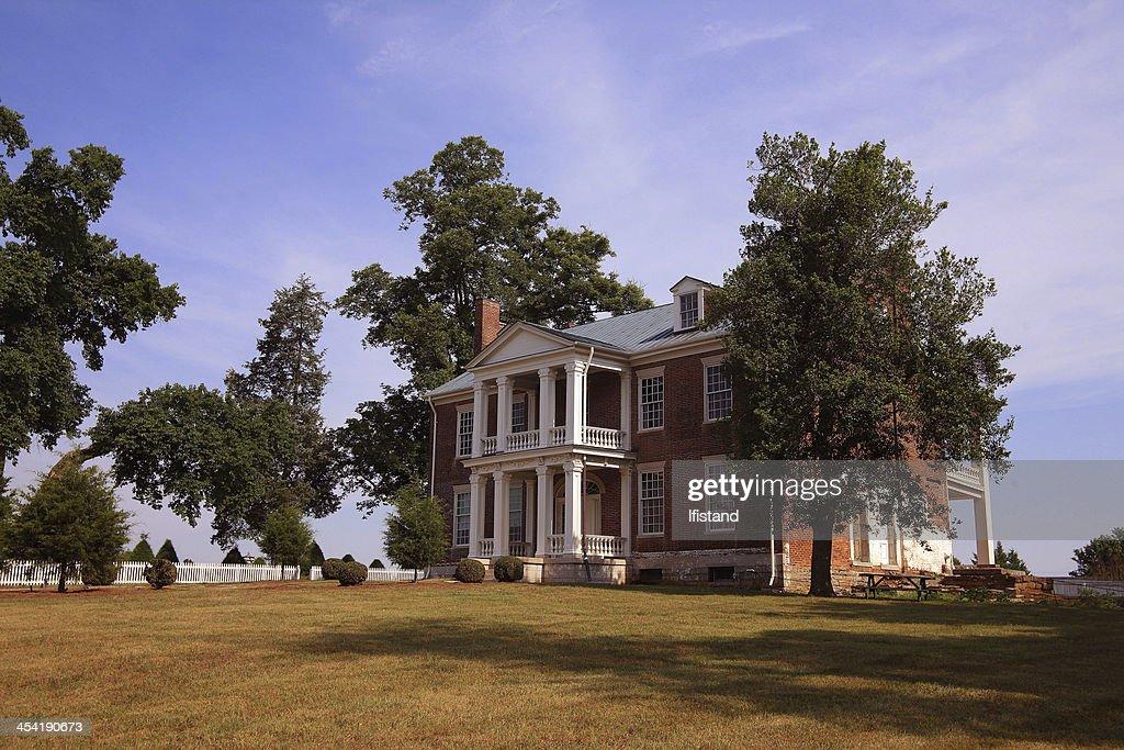 Tulip Grove Mansion : Stock Photo