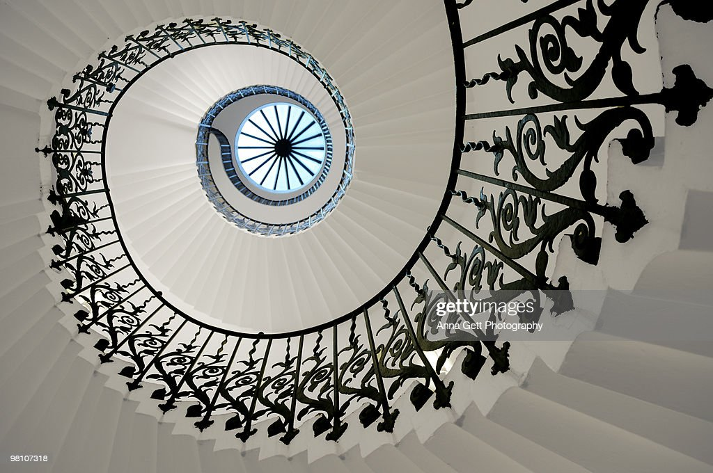 Tulip Stairs : Stock Photo