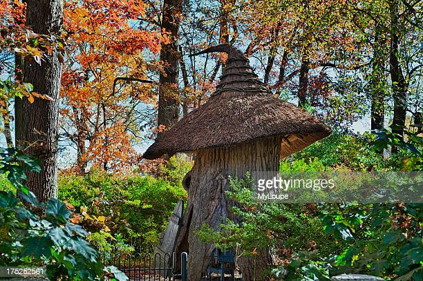 Tulip Tree House in the Enchanted Woods of Winterthur Gardens