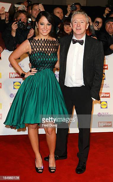 Tulisa Contostavlos and Louis Walsh attend the Pride Of Britain awards at Grosvenor House on October 29 2012 in London England
