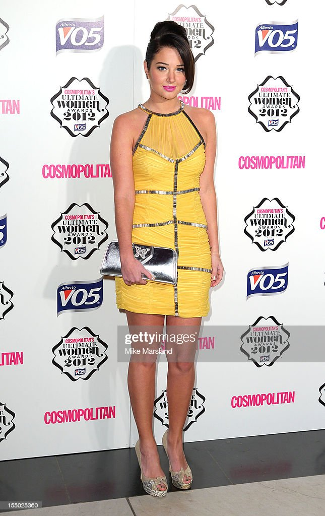 Tulisa Contostavlos attends the Cosmopolitan Ultimate Woman of the Year awards at Victoria & Albert Museum on October 30, 2012 in London, England.