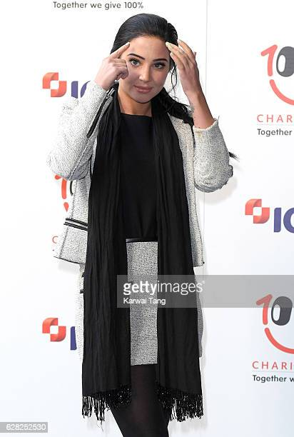 Tulisa Contostavlos attends the ICAP's 24th annual charity trading day in aid of Sentebale at ICAP on December 7 2016 in London England The Sentebale...