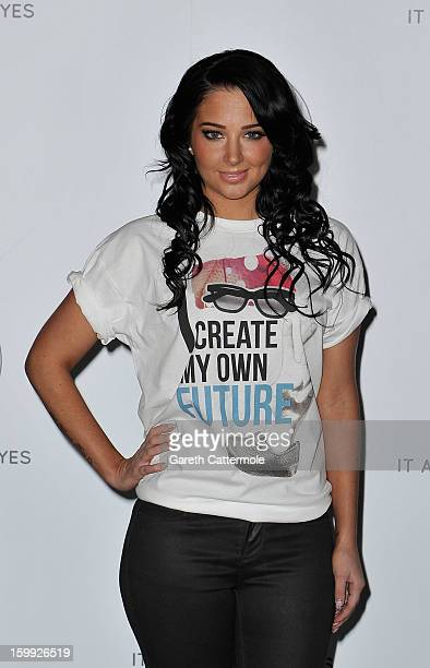 Tulisa Contostavlos attends the NCS 2013 launch on January 23 2013 in London England Tulisa was on hand to encourage teenagers to say yes to NCS a...