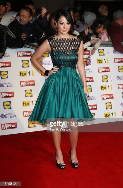 Tulisa Contostavlos attends the Pride Of Britain awards at the Grosvenor House Hotel on October 29 2012 in London England