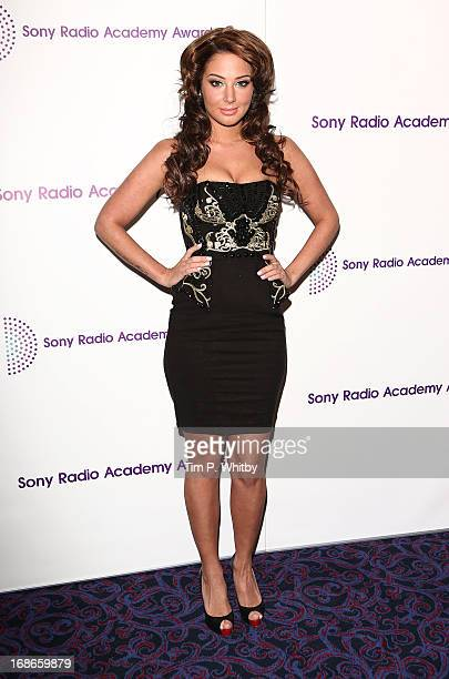 Tulisa Contostavlos attends the Sony Radio Academy Awards at The Grosvenor House Hotel on May 13 2013 in London England