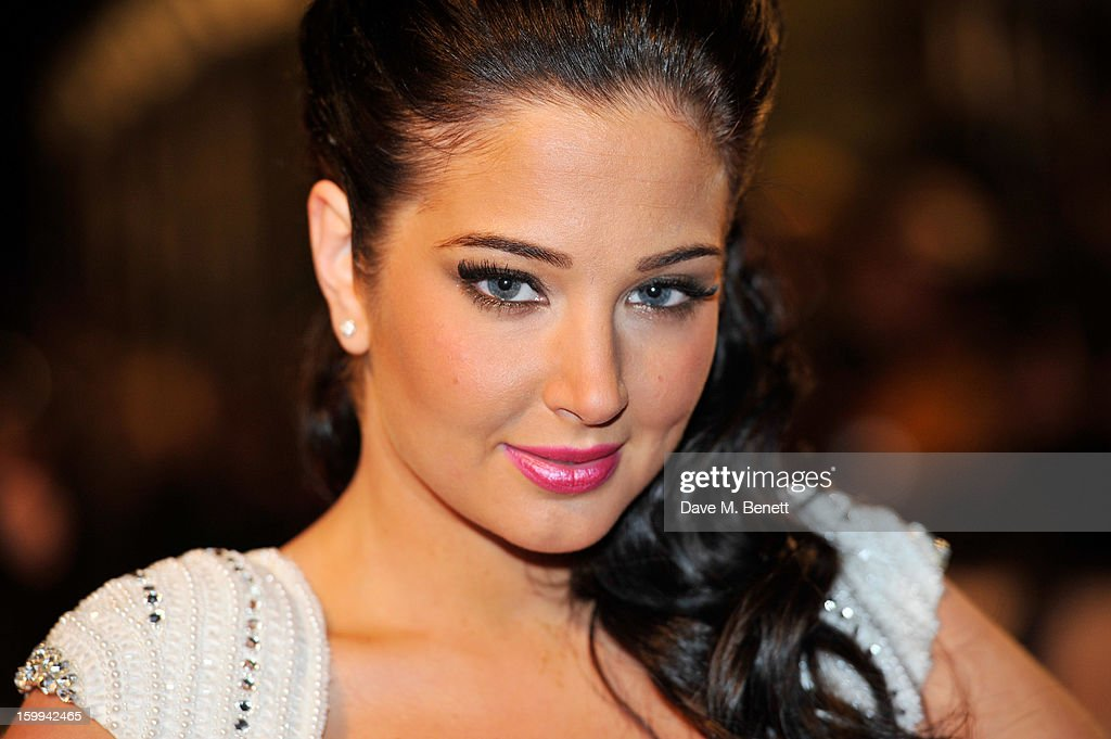 Tulisa Contostavlos attends the the National Television Awards at 02 Arena on January 23, 2013 in London, England.