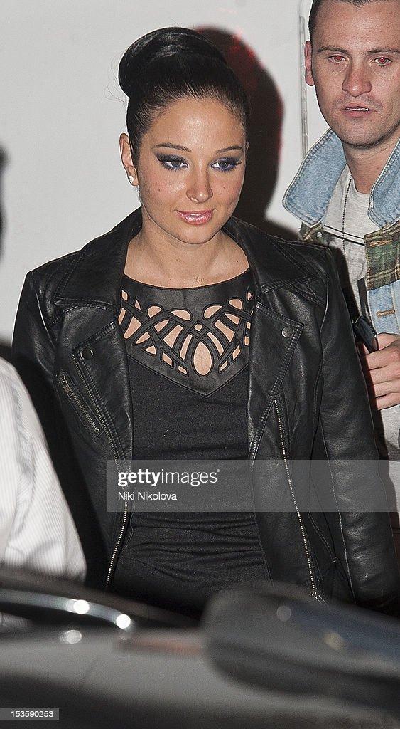 Tulisa Contostavlos sighting on October 6, 2012 in London, England.