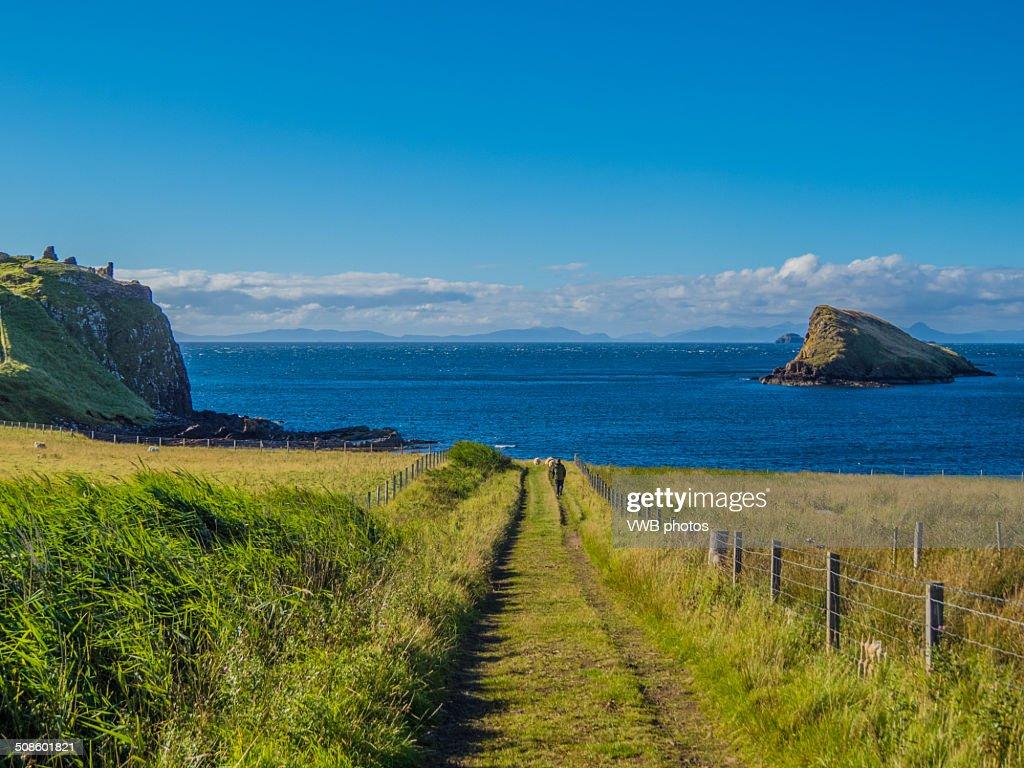 Tulm Island, Duntulm Bay, Isle of Skye : Stock Photo
