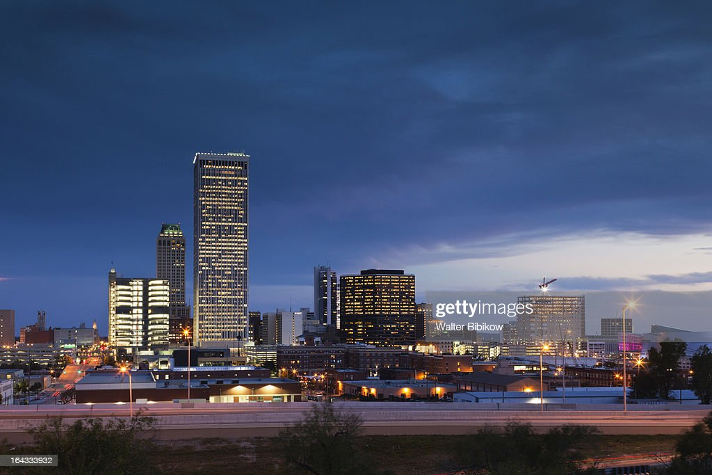 Tulsa, Oklahoma, City View : Stock Photo