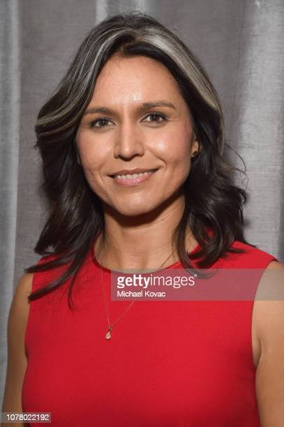 Tulsi Gabbard attends the Sean Penn CORE Gala benefiting the organization formerly known as J/P HRO its lifesaving work across Haiti the world at The...