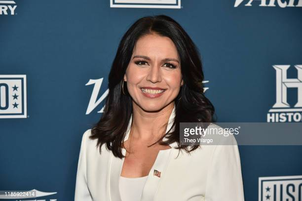 Tulsi Gabbard attends Variety's 3rd Annual Salute To Service at Cipriani 25 Broadway on November 06 2019 in New York City