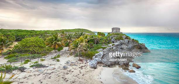 Tulum Mayan ruins, Yucatan, Mexico