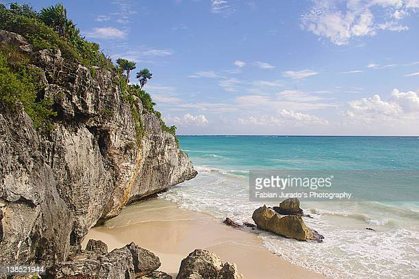 tulum, riviera maya - mayan riviera stock photos and pictures