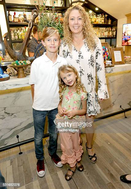 "Tumble Leaf actor Christopher Downs and ""Tumble Leaf"" producer Jodi Downs attend Amazon Original Series Tumble Leaf season two celebration on May 15..."