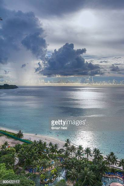 tumon bay - nee nee stock pictures, royalty-free photos & images