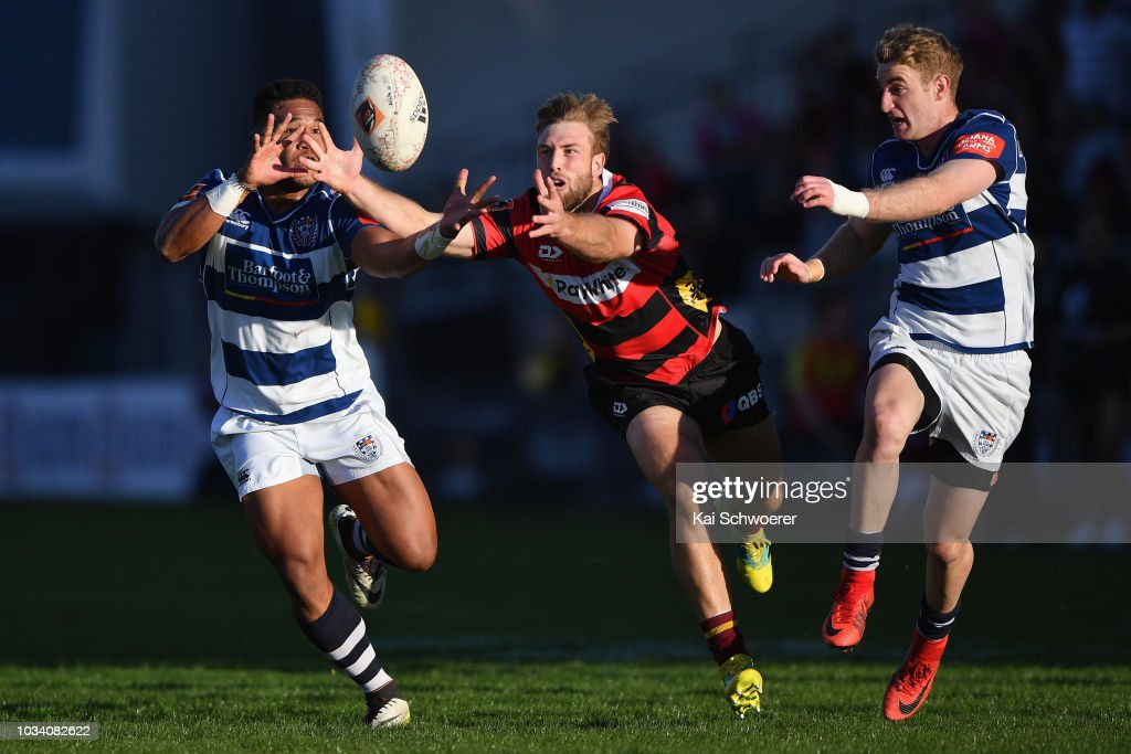 Mitre 10 Cup Rd 5 - Canterbury v Auckland : News Photo