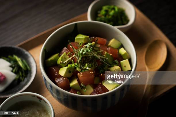 Tuna and avocado bowl