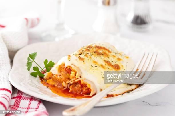 tuna cannelloni - cris cantón photography fotografías e imágenes de stock