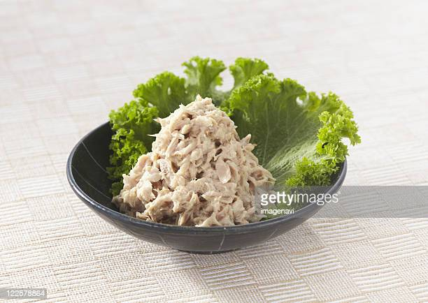 Tuna dressed with mayonnaise