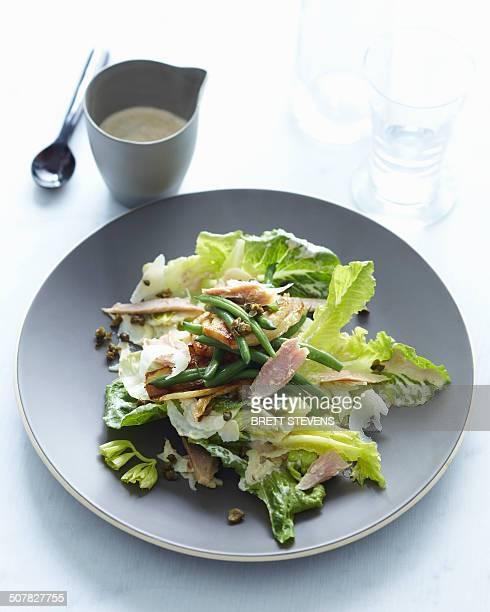 Tuna lemon fennel salad