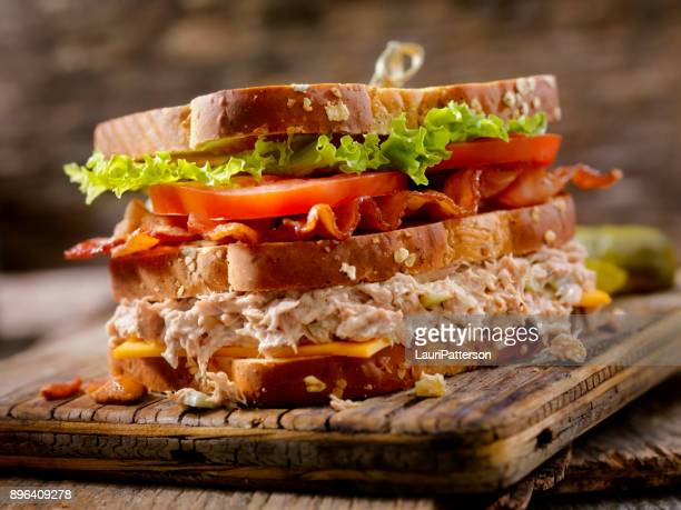 Tuna Salad, BLT, Clubhouse Sandwich
