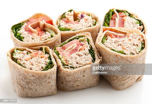 Tuna Salad Wrap Sandwich