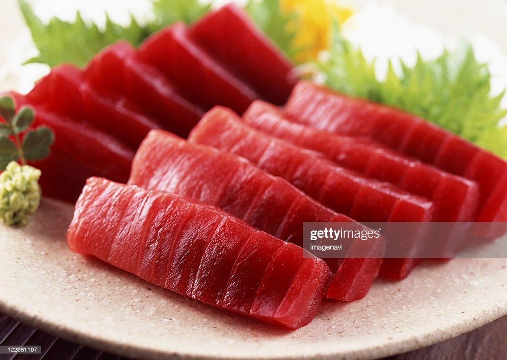 Tuna sashimi : Foto de stock