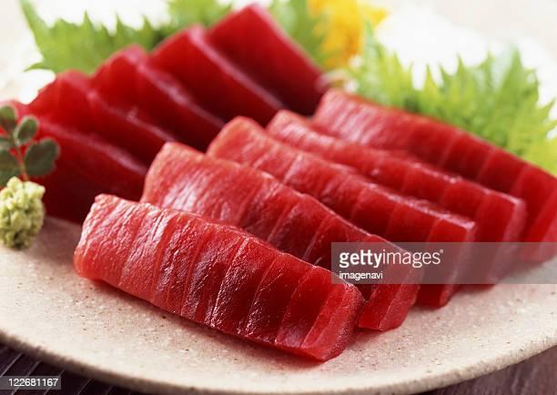 tuna sashimi - sashimi fotografías e imágenes de stock