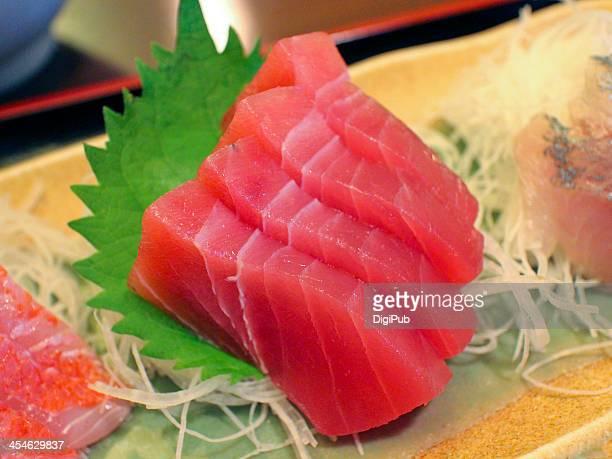 tuna sashimi - sashimi stock photos and pictures