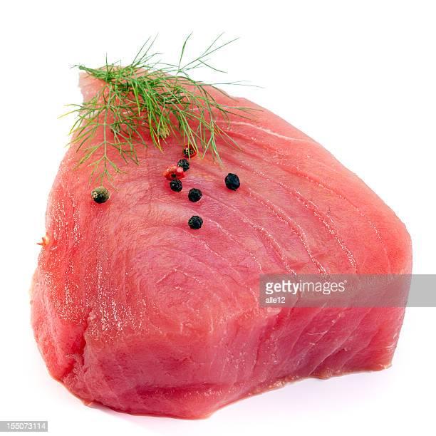 tuna steak - tuna stock photos and pictures