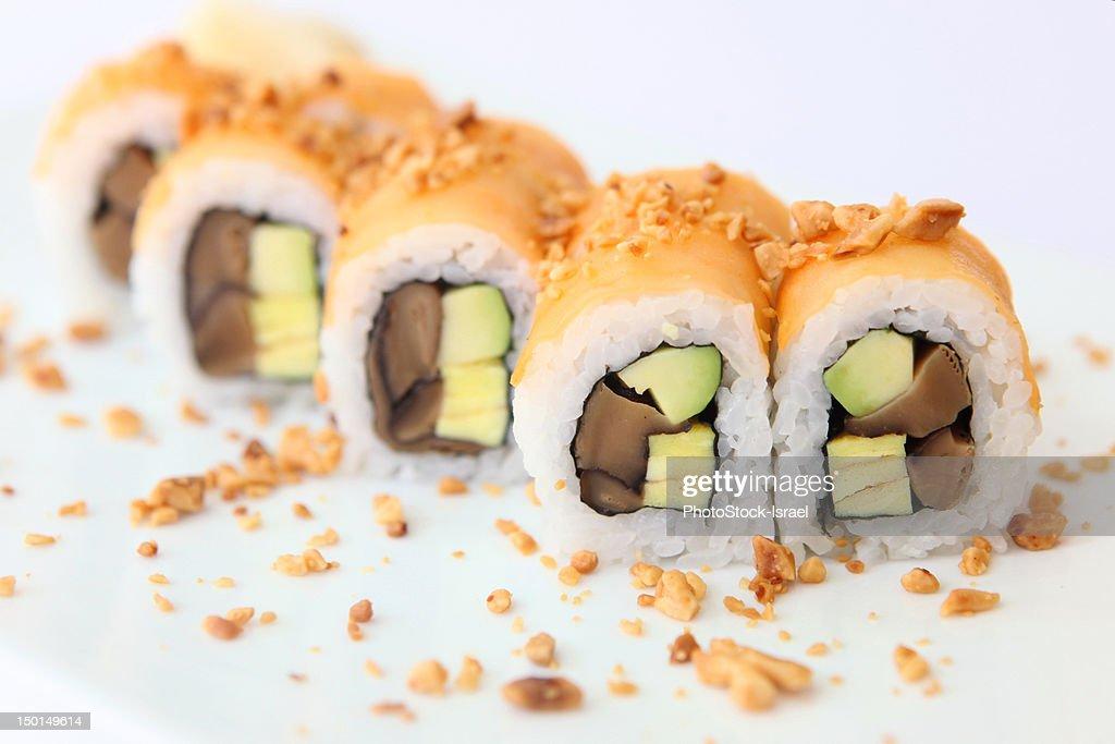 Tuna Sushi : Bildbanksbilder
