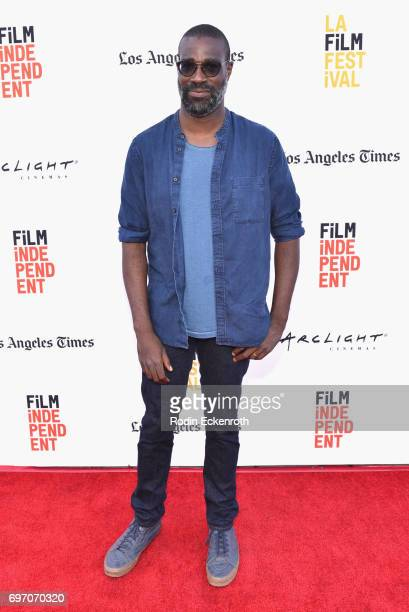 Tunde Adebimpe attends Shorts Program 1 during the 2017 Los Angeles Film Festival at Arclight Cinemas Culver City on June 17 2017 in Culver City...