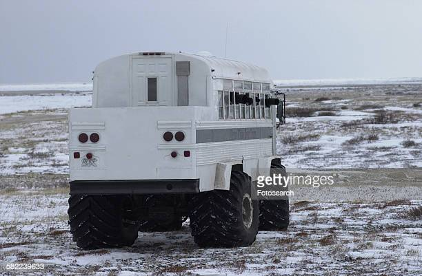 Tundra buggy at Churchill Manitoba