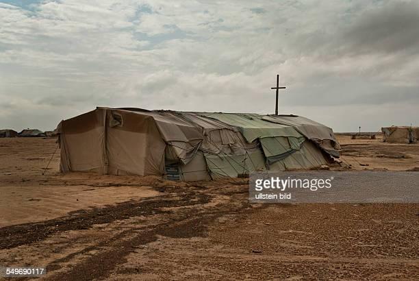 Flüchtlingslager Choucha Camp Christliche Kirche