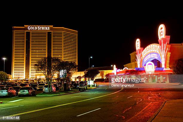 tunica misssissippi casino strip - mississippi stock photos and pictures
